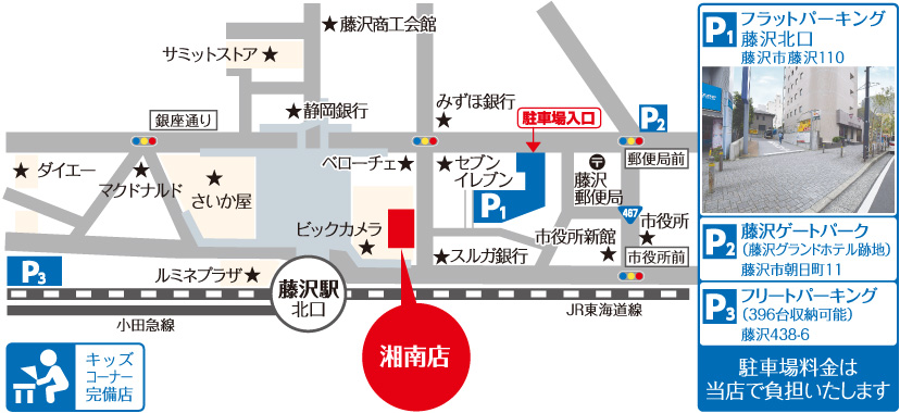 In detail neighboring maps